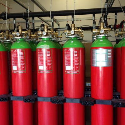 Data Centre Fire Suppression Systems
