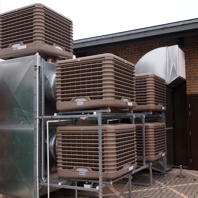 Freecool Evaporative Cooling System